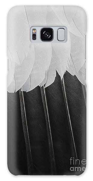 Stormy Feathers Galaxy Case by Judy Whitton