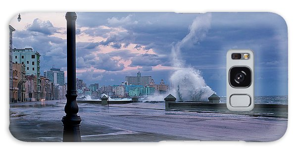 Storming Galaxy Case - Stormy Malecon by Mike Kreiten