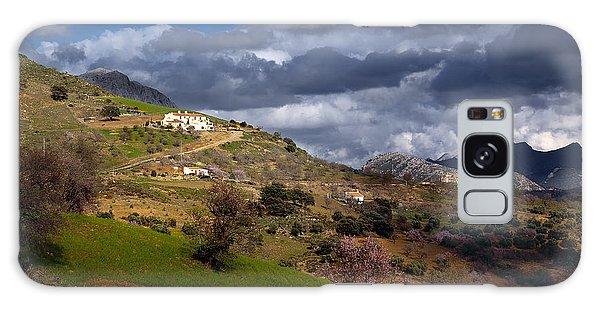 Stormy Mediterranean Landscape Galaxy Case