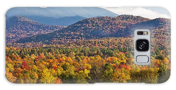 Stormy Mount Mansfield Galaxy Case