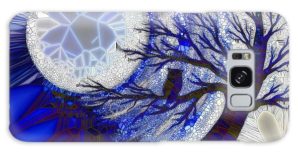 Stormy Night Owl Galaxy Case by Agata Lindquist