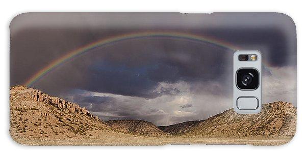 Stormy Rainbow Galaxy Case
