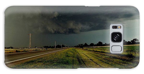 Stormy Road Ahead Galaxy Case by Ed Sweeney