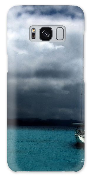 Stormy Sails Galaxy Case by Heather Green