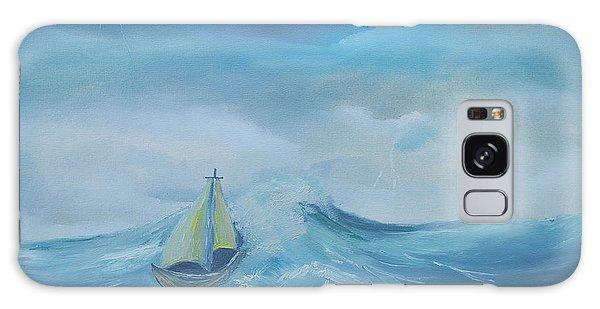 Stormy Seas Galaxy Case