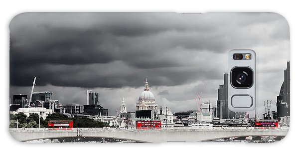 Stormy Skies Over London Galaxy Case