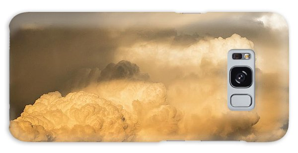 Cloudscape Galaxy Case - Stormy Summer Skies And Rain Clouds by Peter Chadwick/science Photo Library