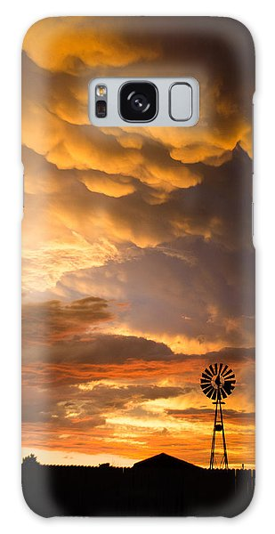Stormy Sunrise Galaxy Case
