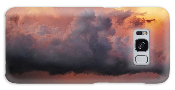 Stormy Sunset Galaxy Case by Ed Sweeney