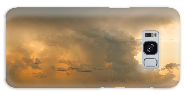 Stormy Sunset Galaxy Case by Mariarosa Rockefeller