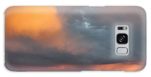 Stormy Sunset Galaxy Case