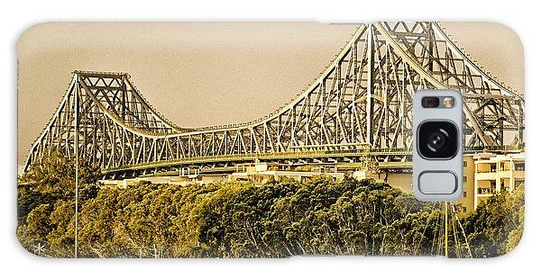 Story Bridge - Icon Of Brisbane Australia Galaxy Case