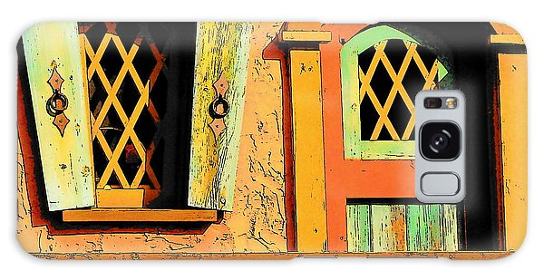 Storybook Window And Door Galaxy Case by Rodney Lee Williams