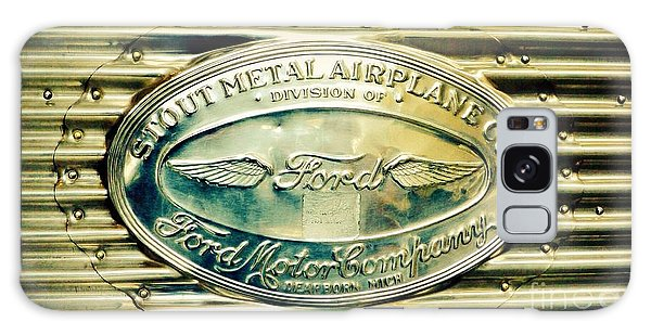 Stout Metal Airplane Co. Emblem Galaxy Case by Susan Garren
