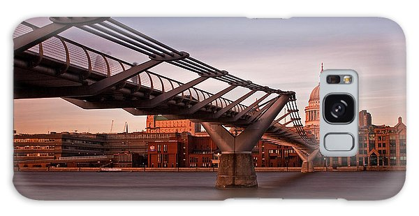 St.paul's From The South Bank Galaxy Case