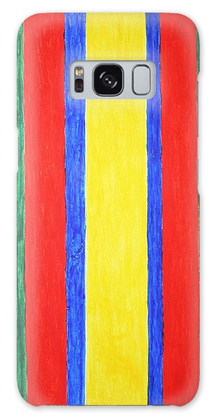 Vertical Lines Galaxy Case by Stormm Bradshaw