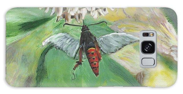 Strange Bug At Flowers Galaxy Case