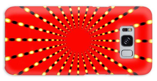 Strange Sun Rays Galaxy Case