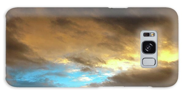 Stratus Clouds At Sunset Bring Serenity Galaxy Case