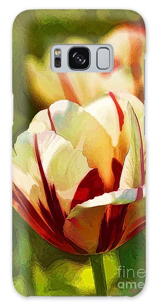 Strawberries And Cream Galaxy Case by Linda Blair