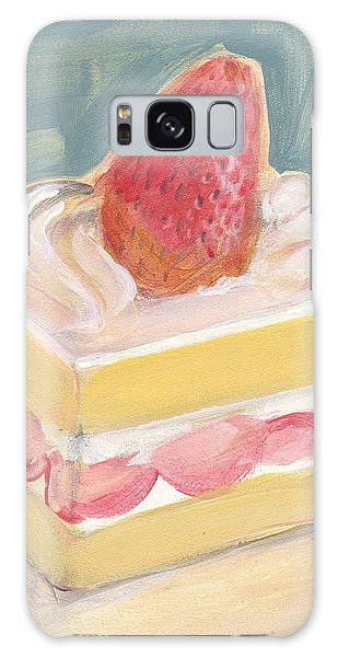 Strawberry Cake Galaxy Case