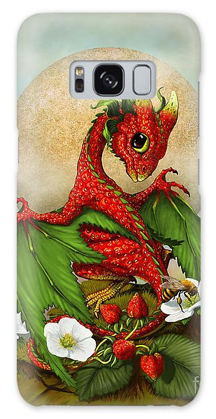 Dragon Galaxy S8 Case - Strawberry Dragon by Stanley Morrison