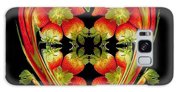 Strawberry Heart Galaxy Case