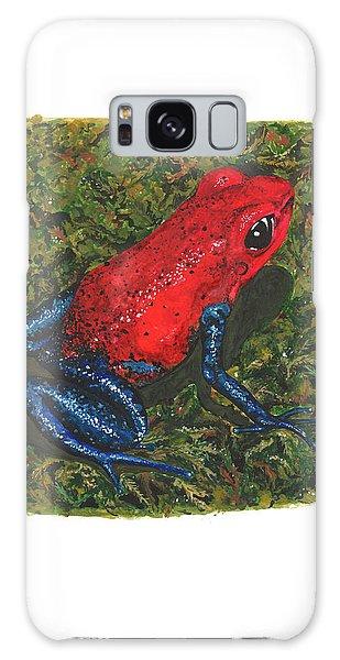 Strawberry Poison Dart Frog Galaxy Case