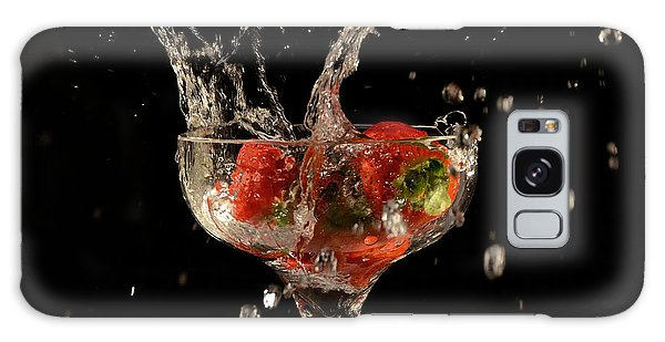 Strawberry Splash 1 Galaxy Case
