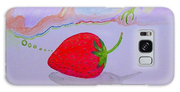 Strawberry Thoughts Galaxy Case