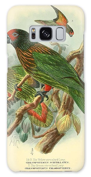 Parakeet Galaxy Case - Streaked Lory by Dreyer Wildlife Print Collections