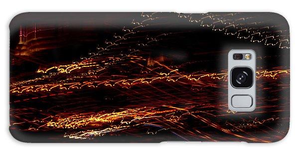 Streaks Across The Bridge Galaxy Case by Paulo Guimaraes