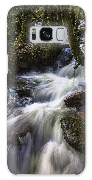 Stream On Eume River Galicia Spain Galaxy Case