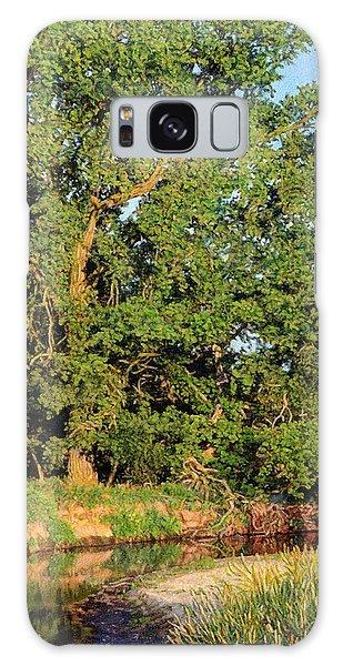 Streamside Cottonwood Galaxy Case