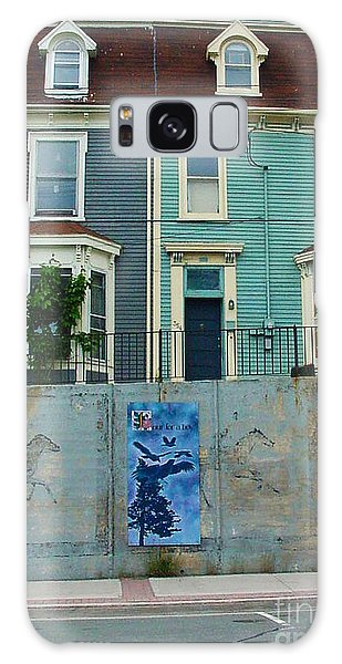 Street Art 2 Galaxy Case