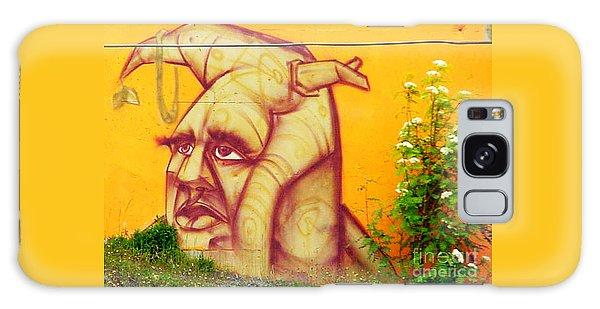 Street Art 3 Galaxy Case