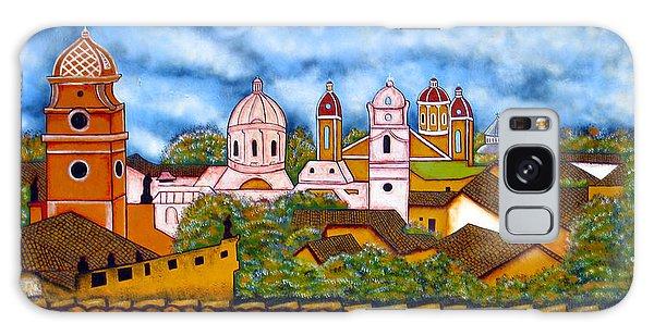 Street Art Granada Nicaragua 3 Galaxy Case