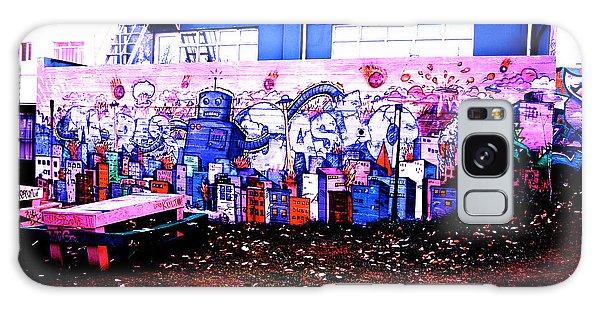 Galaxy Case featuring the photograph Street Art by HweeYen Ong