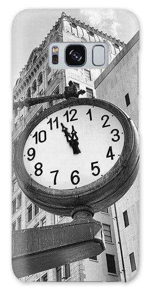 Street Clock Galaxy Case