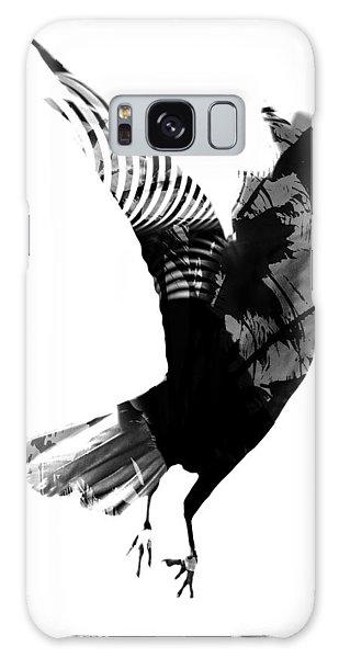Street Crow Galaxy Case by Jerry Cordeiro