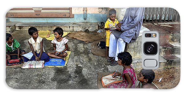 People Galaxy Case - Street Education by Avishek Das