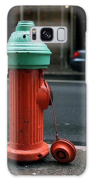 Street Hydrant Galaxy Case