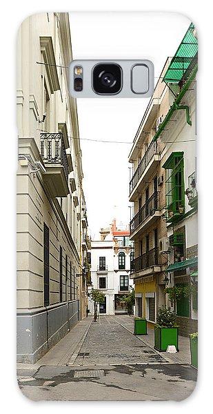 Street In Cadiz Spain Galaxy Case