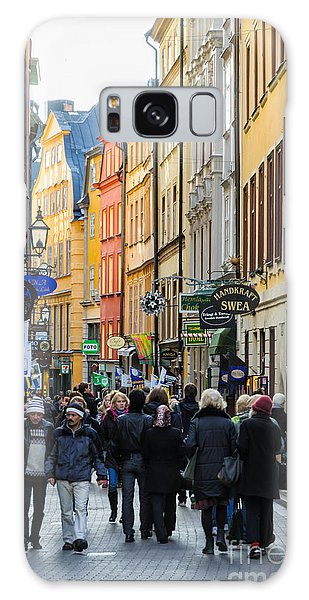 Street In Gamla Stan - The Old Part Of Stockholm - Sweden Galaxy Case