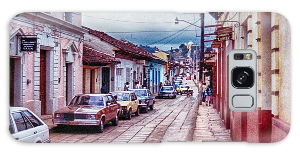 Street In Las Casas Galaxy Case