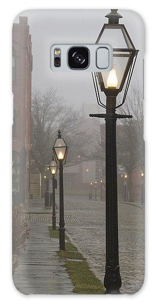 Street Lamps On Johnny Cake Hill Galaxy Case
