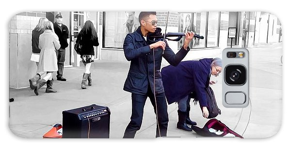 Street Musician Series #2 Galaxy Case