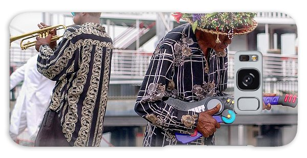 Street Musicians New Orleans Galaxy Case
