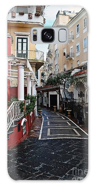 Street Of Capri Galaxy Case