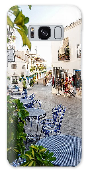 Street Of Mijas Galaxy Case